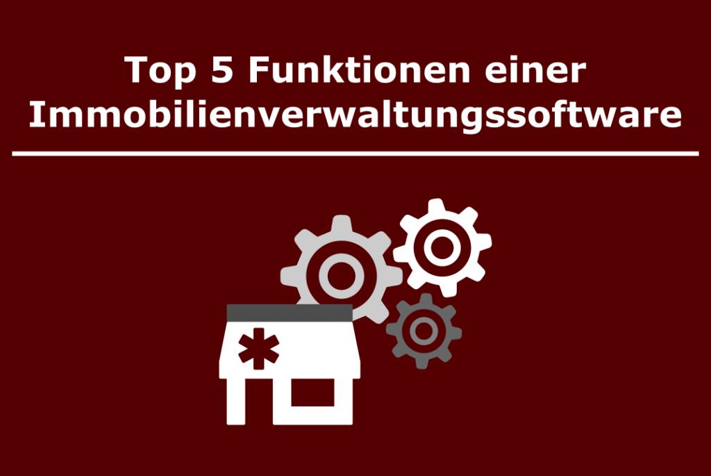 Startbild - Top 5 Funktionen Hausverwaltungssoftware